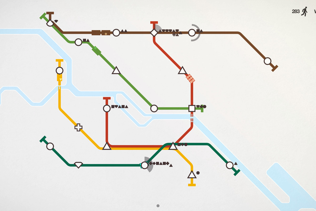 Mini Metro Is A Zen Subway Building Game That S A Perfect Fit For