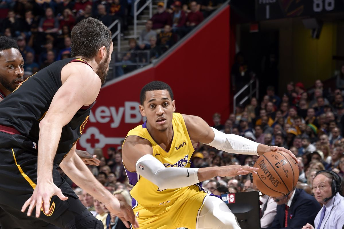7aa7c0008fd Lakers Trade Rumors: Cavaliers have called about Jordan Clarkson ...