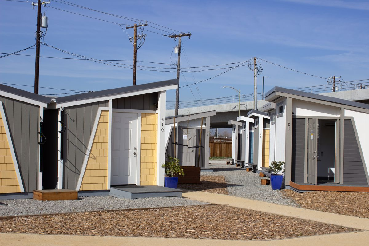 San Jose Opens Tiny Home Community For The Homeless Curbed Sf