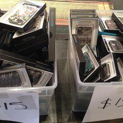 iPhone cases, $15