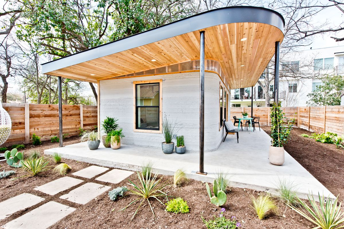 3d Printed Austin House Becomes Model For Affordability
