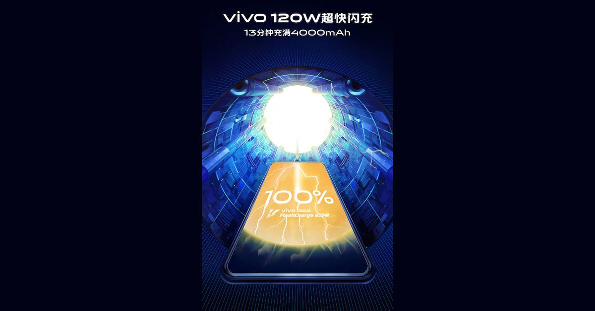 Vivo's Super FlashCharge Tech Fills a 4,000mAh Phone in 13 Minutes
