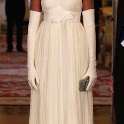 In <b>Tom Ford</b> at a State Banquet at Buckingham Palace on May 24, 2011