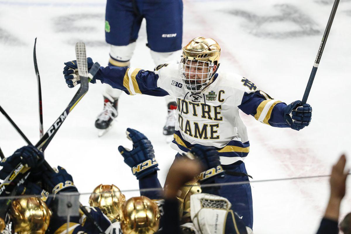 info for ad13e 7023c Frozen Four: Notre Dame Wins Close Again - SB Nation College ...