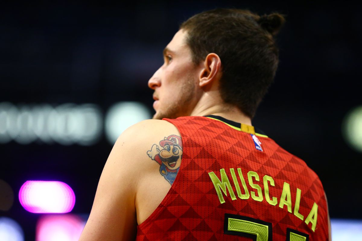 sports shoes 191d3 9016f Why Re-signing Mike Muscala Should be One of the Hawks ...