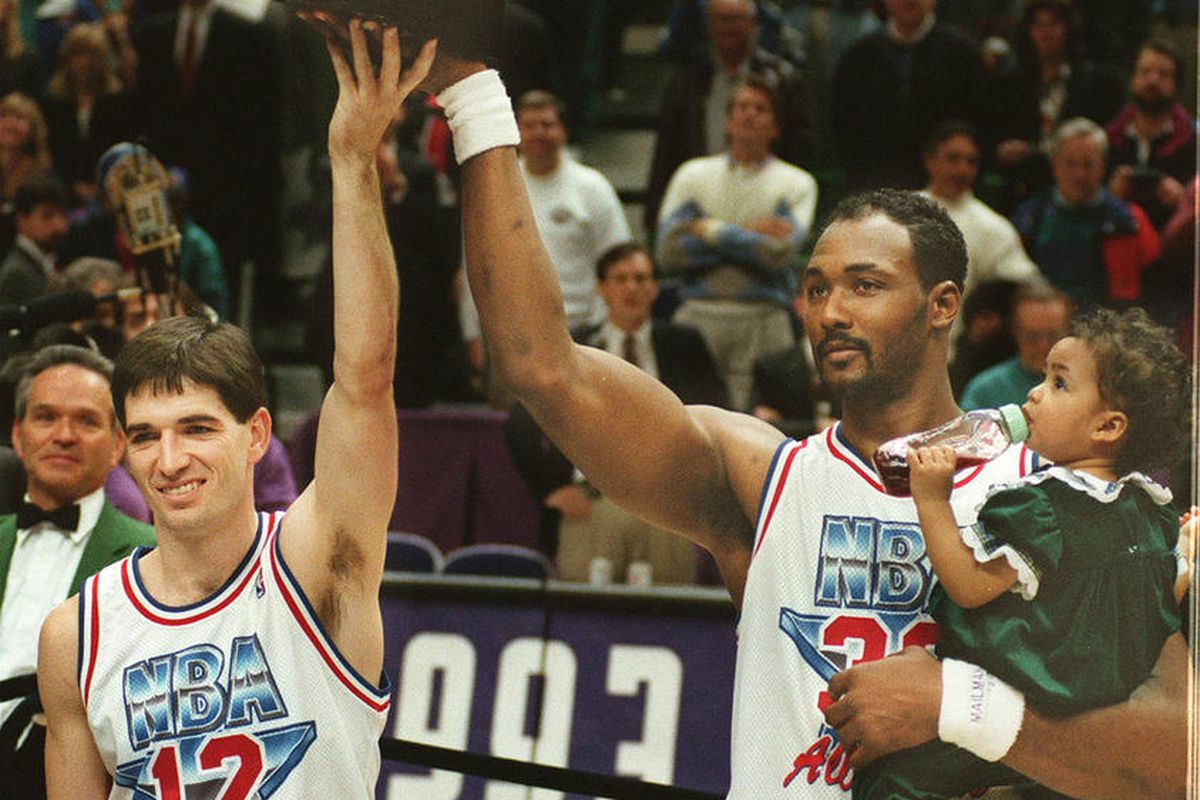 super popular cde89 2af5d It was 25 years ago today that the NBA All-Star Game came to ...