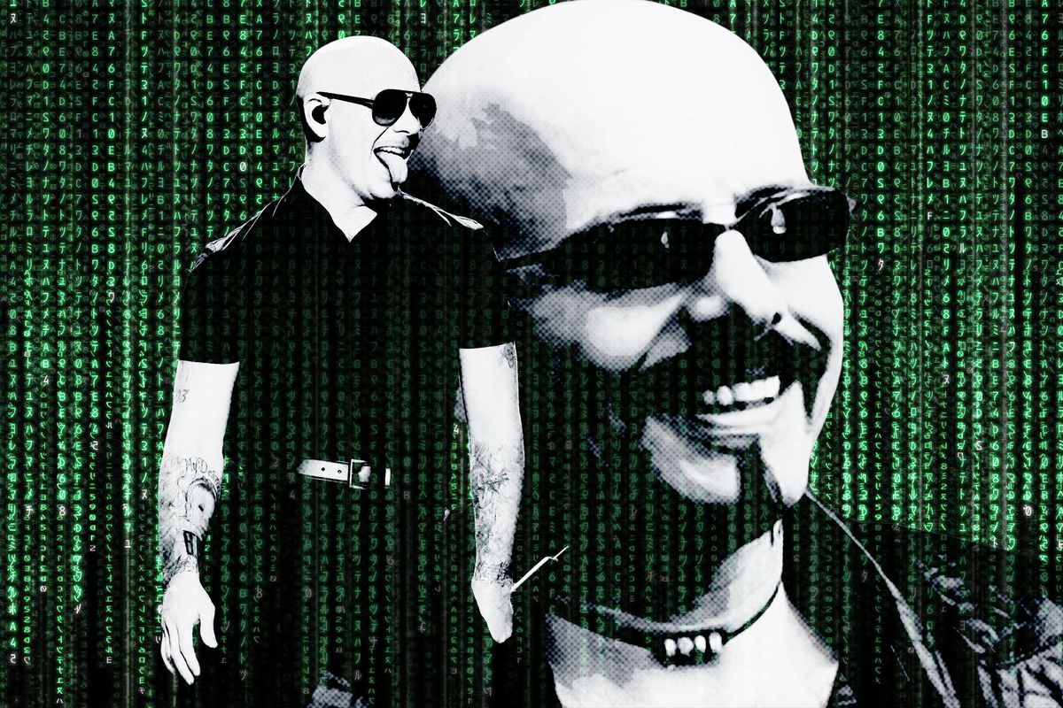We Are Living Inside the Matrix and the Rapper Pitbull Is