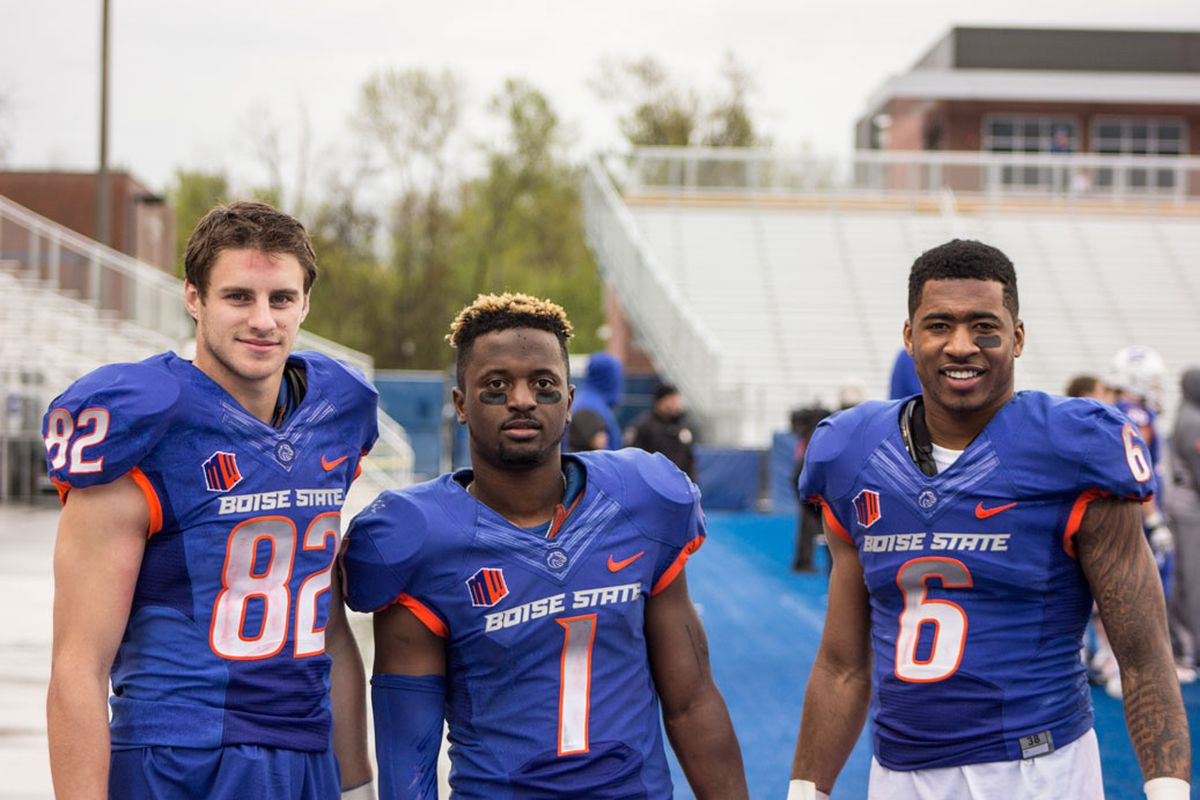 A couple thousand yards worth of 2015 receiving talent