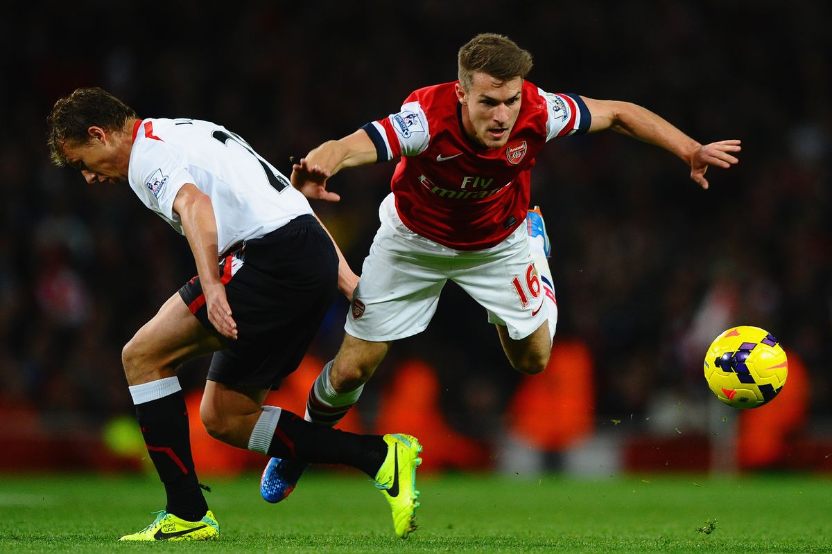 Can anyone stop Aaron Ramsey? Manchester United should be worried!