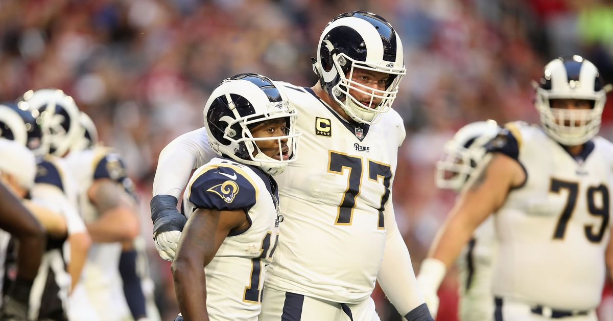 PFF Ranks Los Angeles Rams' Offensive Line 13th For 2019
