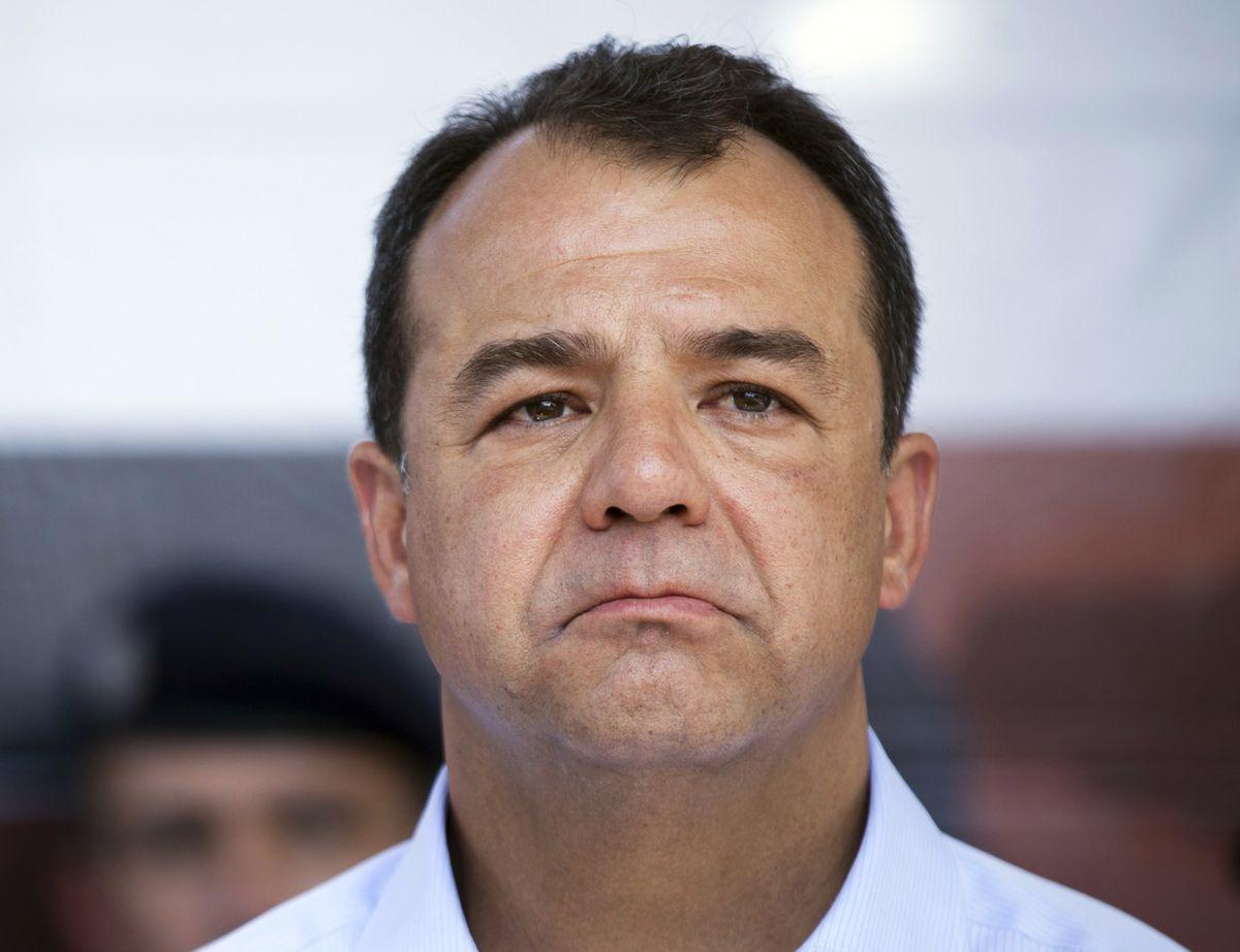 Jailed former Rio de Janeiro state Gov. Sergio Cabral.