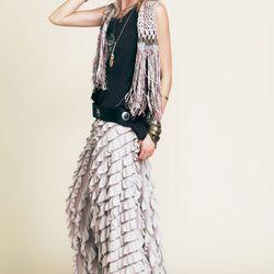 Lydia maxi skirt, $198