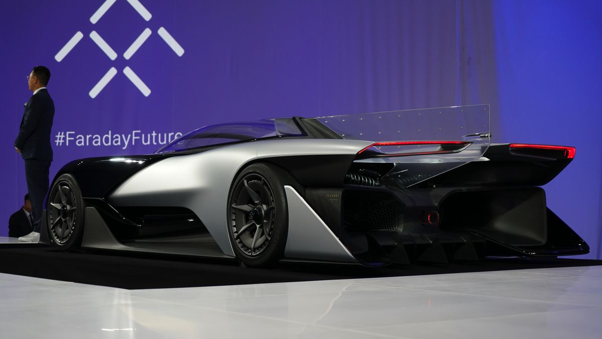 Faraday Future S Ffzero1 Concept Car Looks Even Weirder Up Close