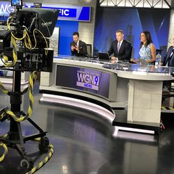 The WGN Morning News team during a commercial break.   Brian Rich for the Sun-Times