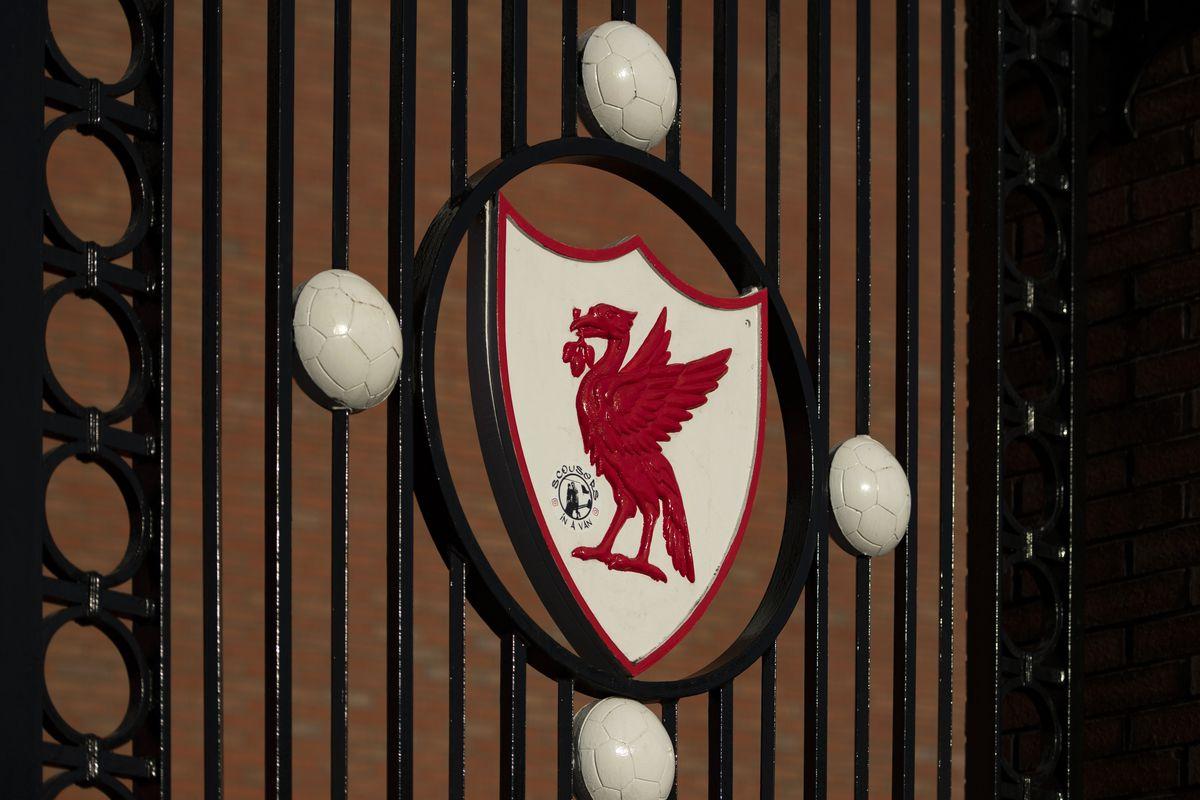 The Liver Bird on the Bob Paisley Gates