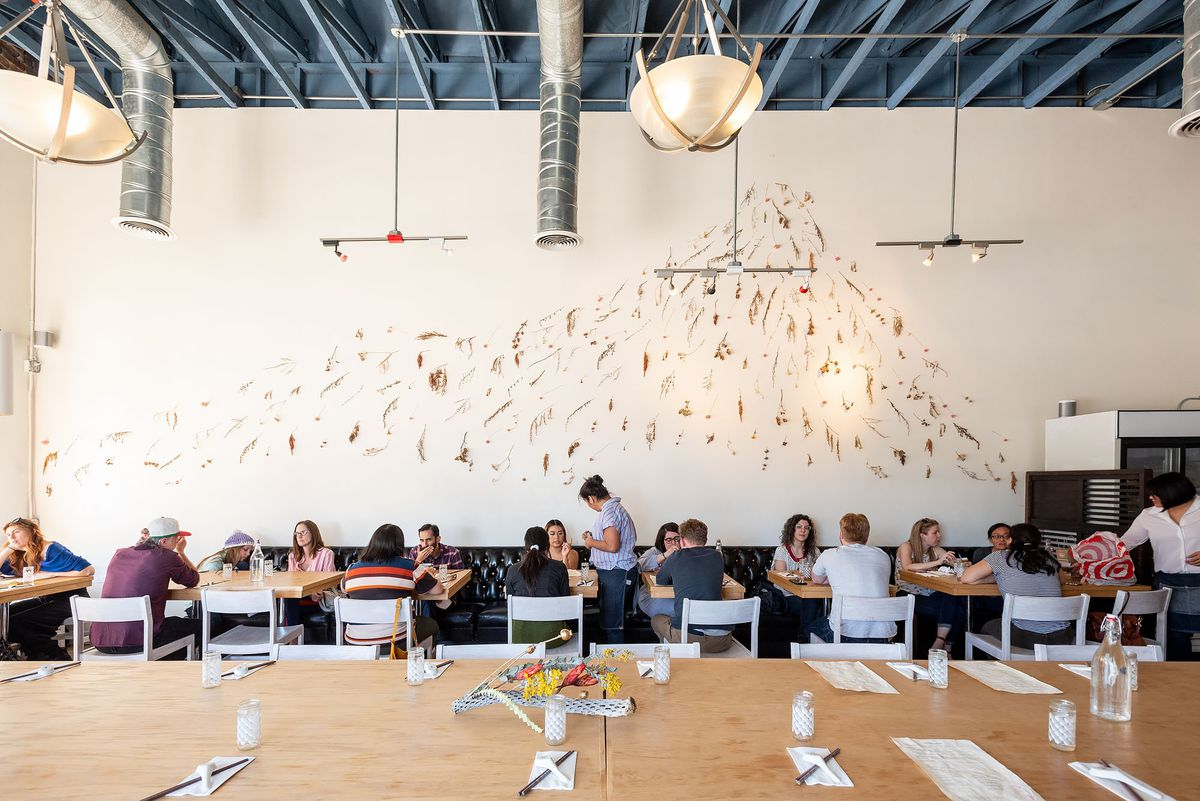 Dining room at Porridge and Puffs