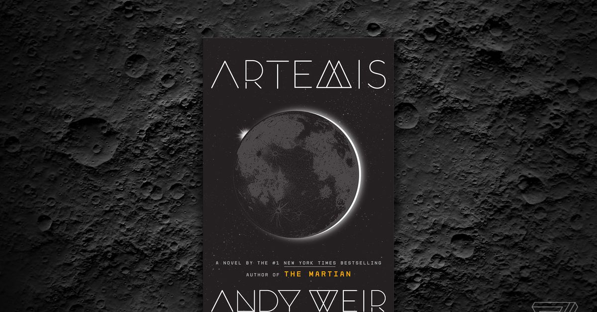 photo image Andy Weir on his new novel Artemis, building a lunar civilization, and why he avoids politics in his stories