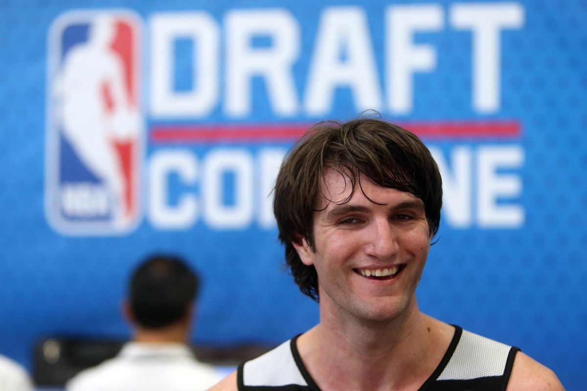 Jeff Withey is one of the headliners at Saturday's workout