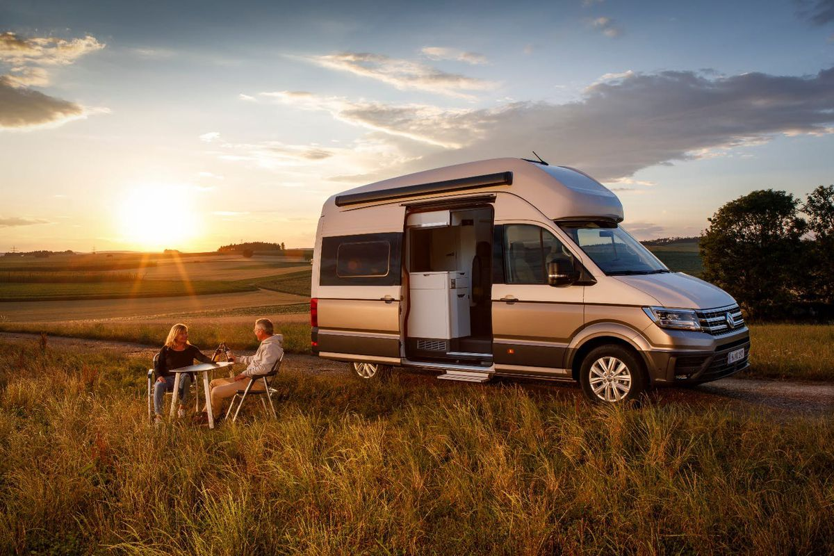 volkswagen van the new grand california builds on iconic camper curbed. Black Bedroom Furniture Sets. Home Design Ideas