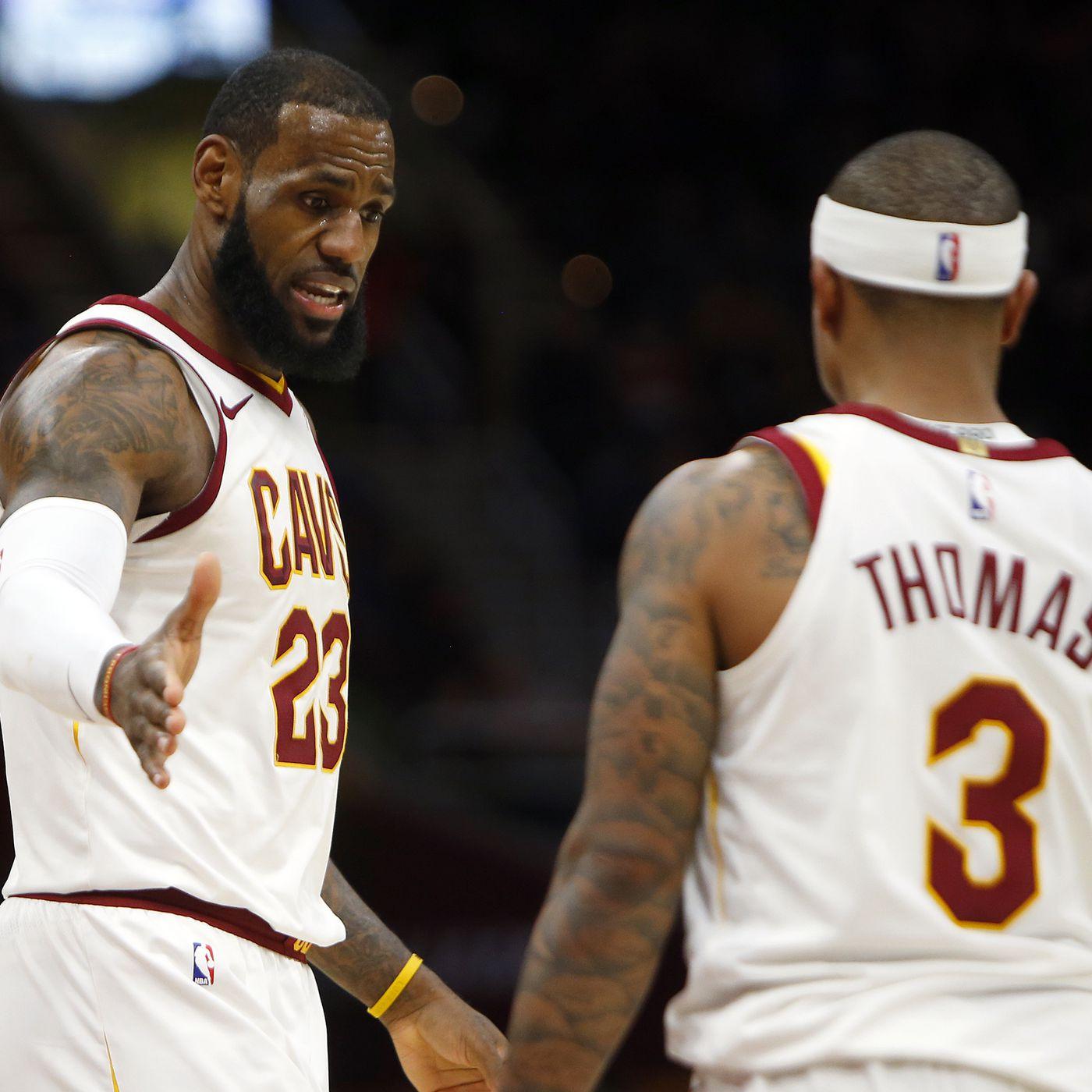 super popular 9f641 17504 NBA Rumors: Isaiah Thomas says LeBron James is 'definitely ...