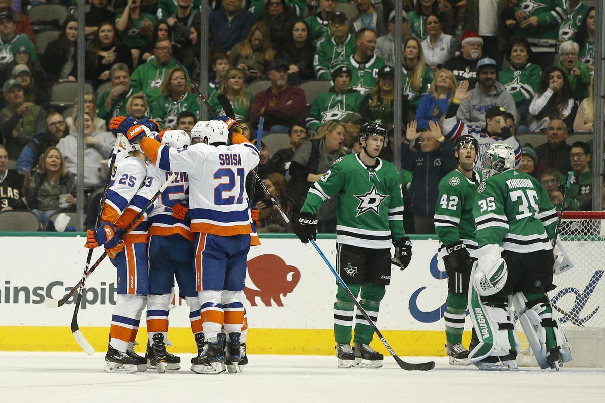 NHL: New York Islanders at Dallas Stars