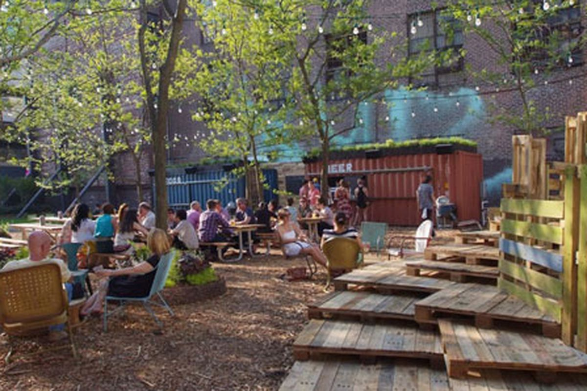 independence beer garden coming in july eater philly. Black Bedroom Furniture Sets. Home Design Ideas