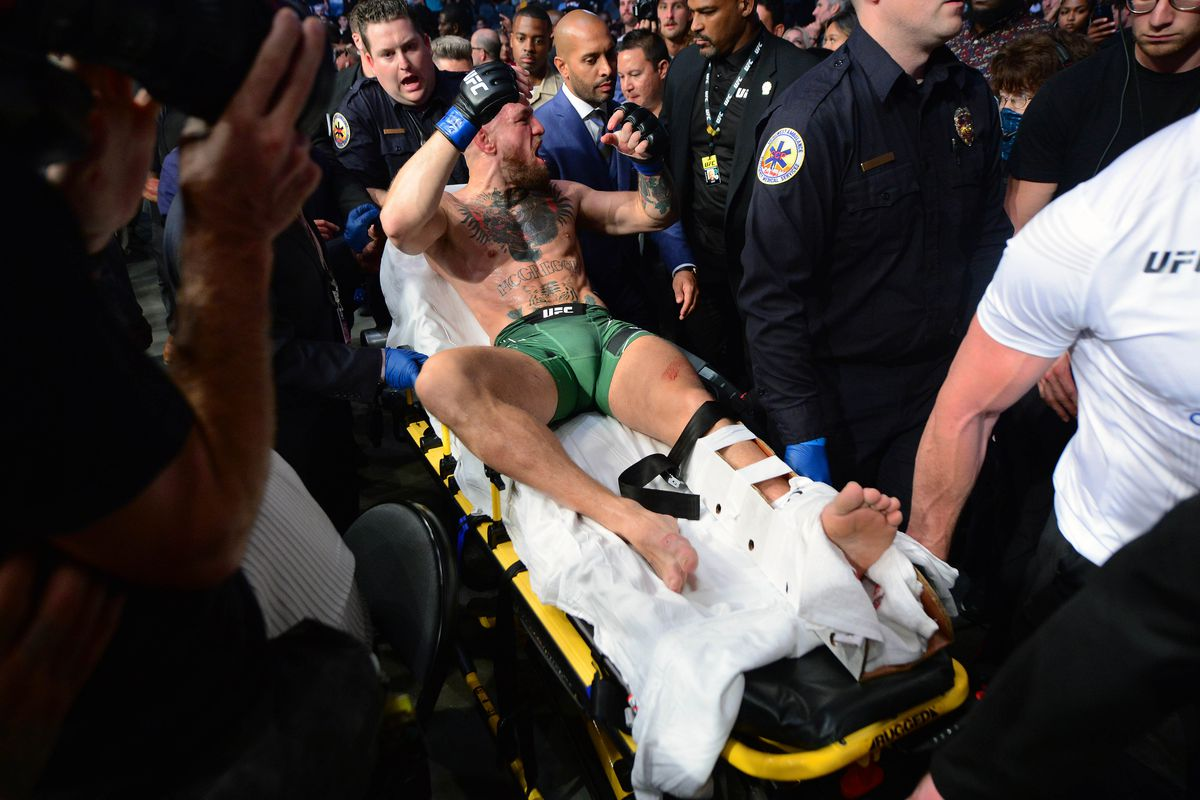 MMA: UFC 264-McGregor vs Poirier