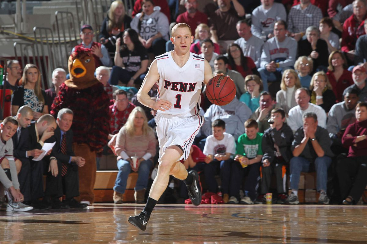 Penn's Zack Rosen could be the smartest point guard in the draft. Will that be enough -- along with a stellar Ivy career -- to get him draft? (Photo courtesy of Penn Athletics)