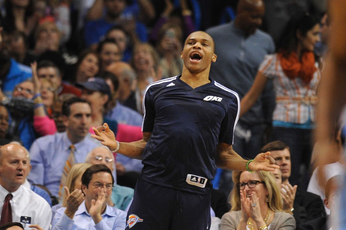 Humility - Russell Westbrook has it in spades.
