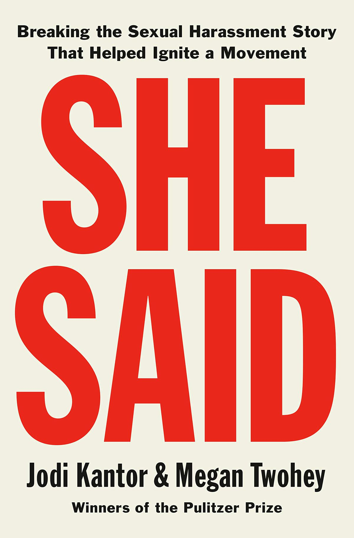Cover of She Said