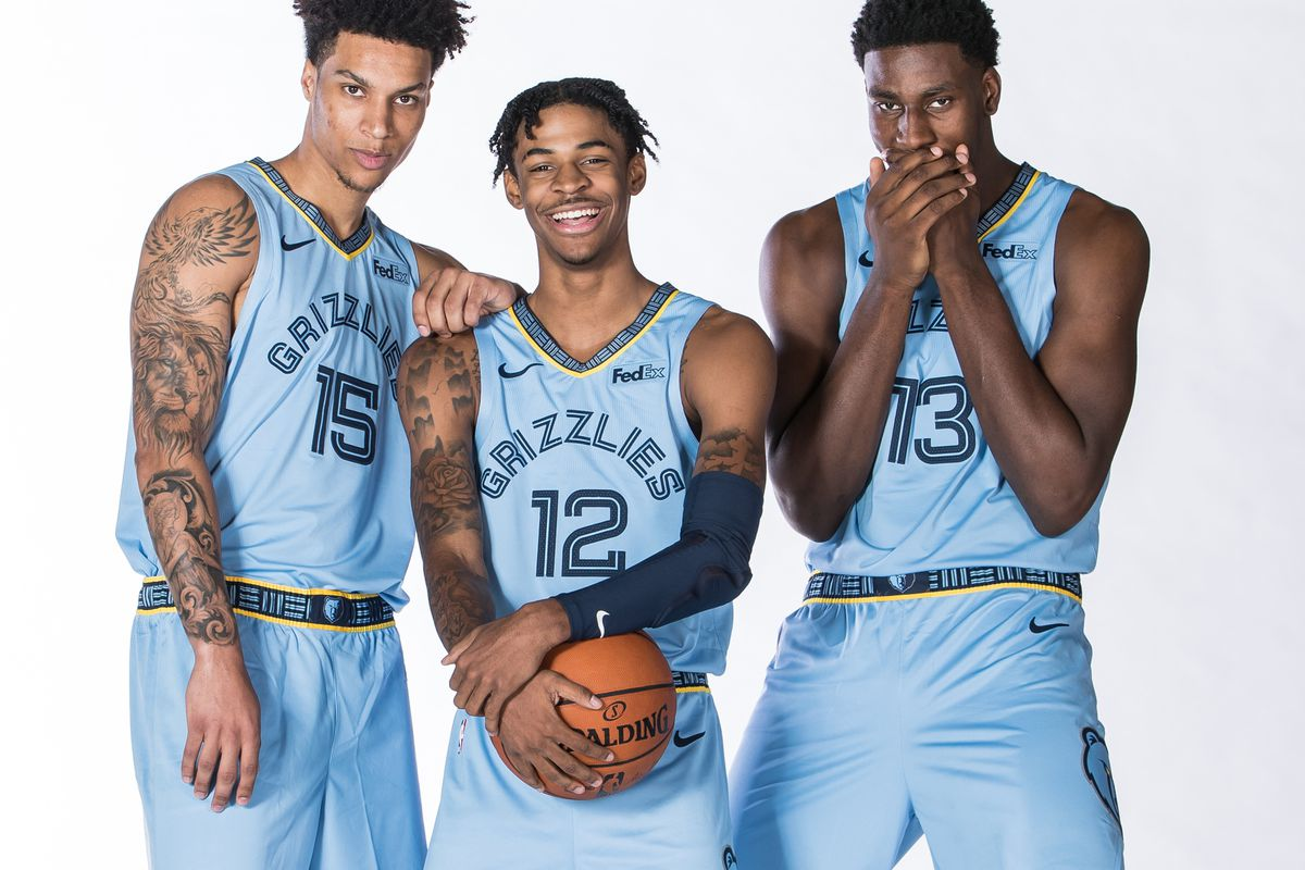 Three Grizzlies Named to Rising Stars Challenge - Grizzly Bear Blues