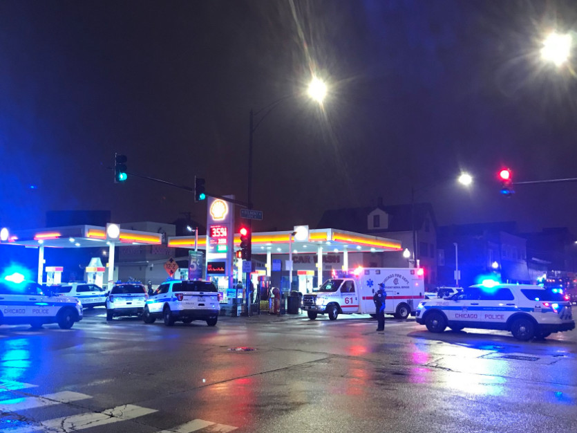 One person was killed and three people were wounded in a shooting in Avondale Tuesday morning | Tyler Lariviere/Sun-Times
