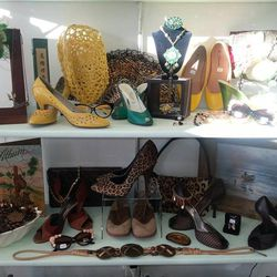 """Head over to <strong><a href=""""http://amberjoysvintagecloset.com/"""">Amberjoy's Vintage Closet</a></strong> (1225 S. Main St.) for vintage clothing and accessories from the 1920s to 1960s or retro wear up to the 1990s. Amberjoy even has a line that replicate"""