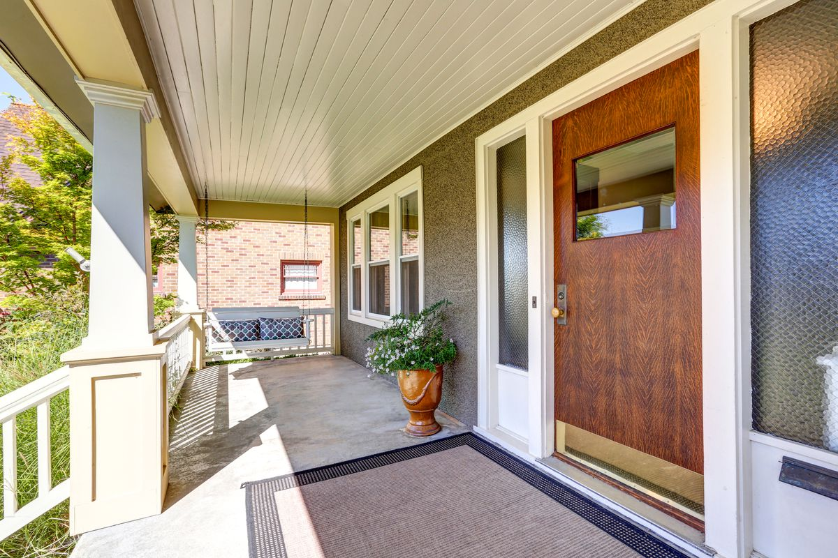 Searching For The Perfect Front Porch