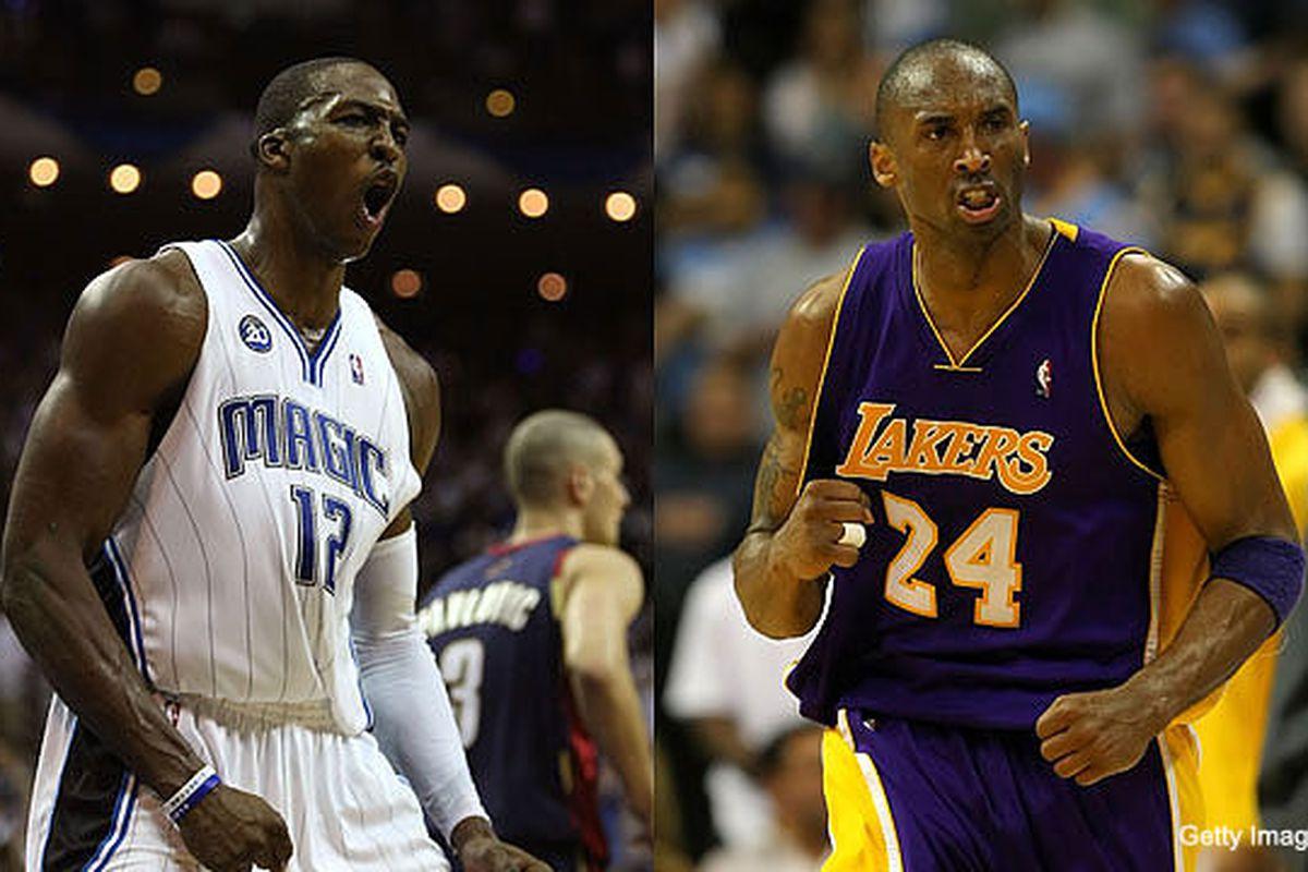 Kobe Bryant. Dwight Howard. Lakers. Magic. NBA Finals. Bring it on.