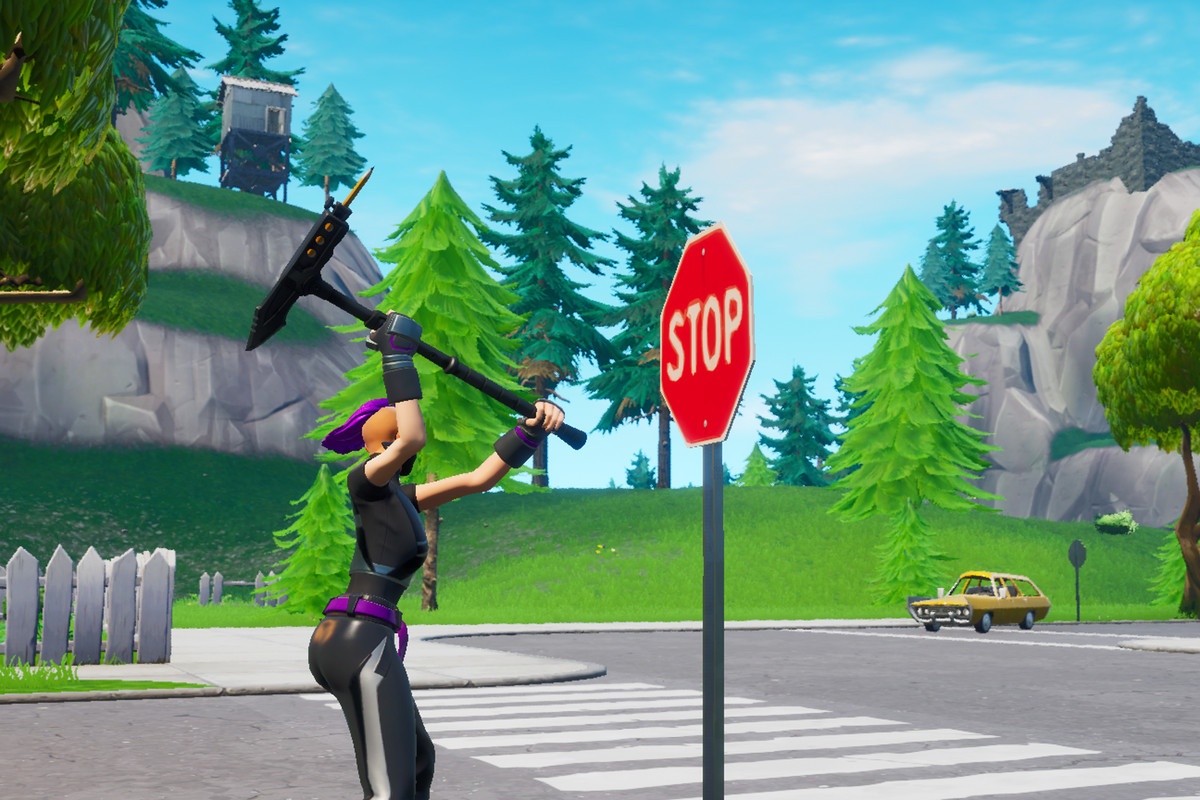 Fortnite's stop signs map guide - Polygon