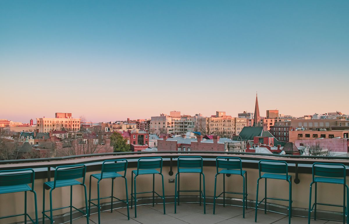 Skybox Rooftop Bar Is Opening Above Players' Club in Logan Circle