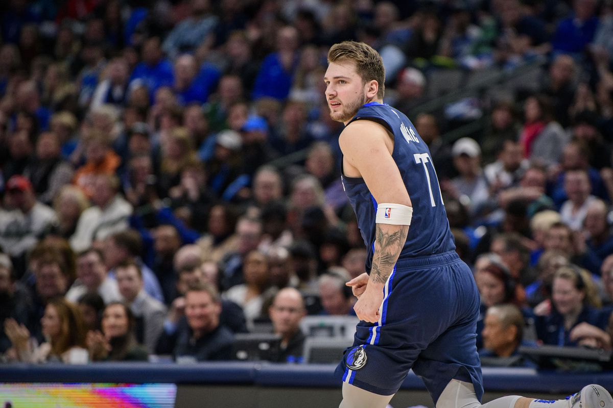 Dallas Mavericks guard Luka Doncic in action during the game between the Mavericks and the Kings at the American Airlines Center.