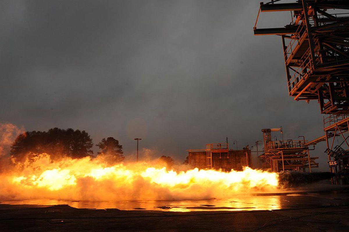 NASA F-1 rocket engine