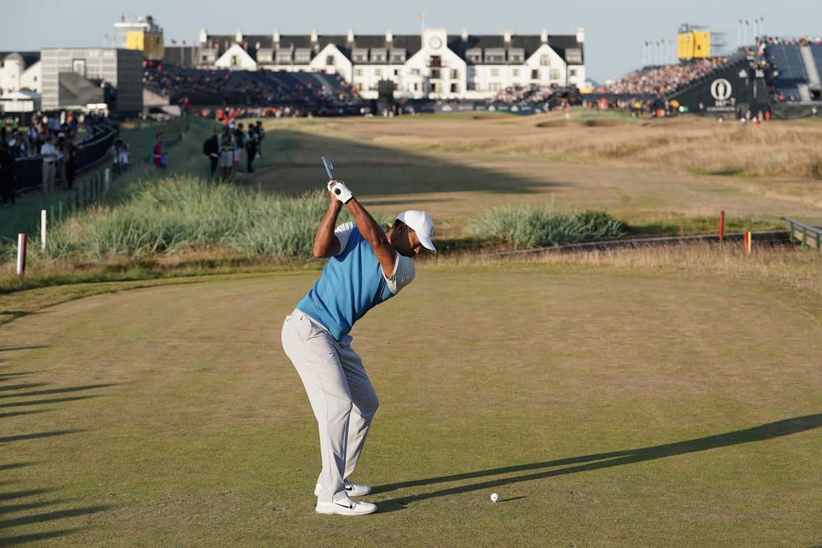 british open 2018  tee times  friday pairings for tiger