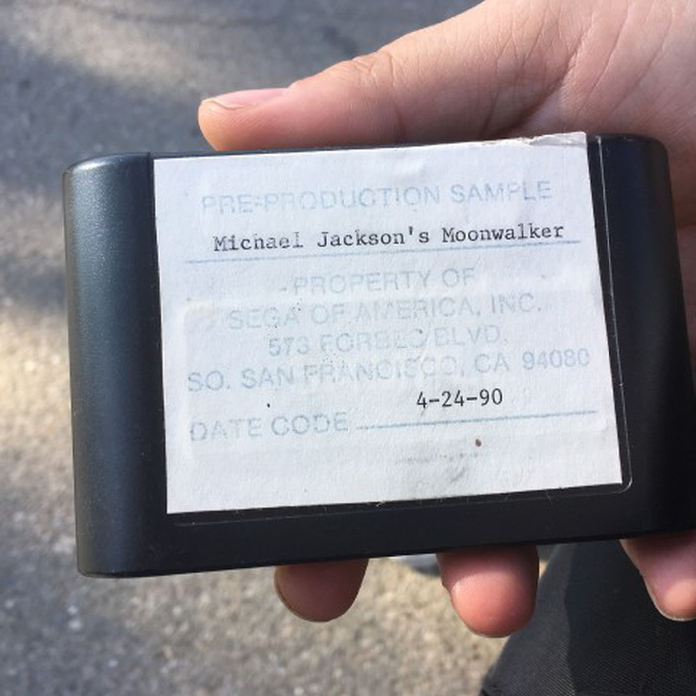 Collector says he has Michael Jackson's Moonwalker with a