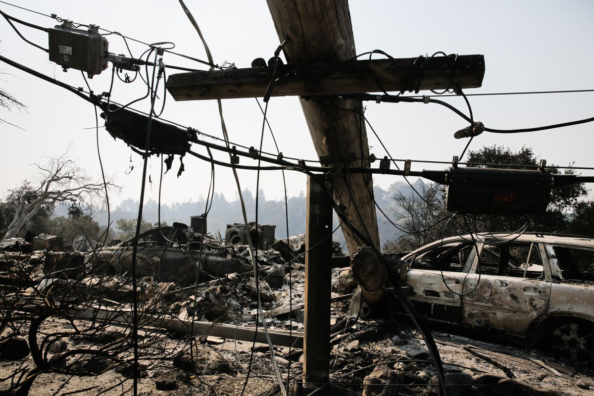 Multiple Wildfires Continue To Ravage California Wine Country