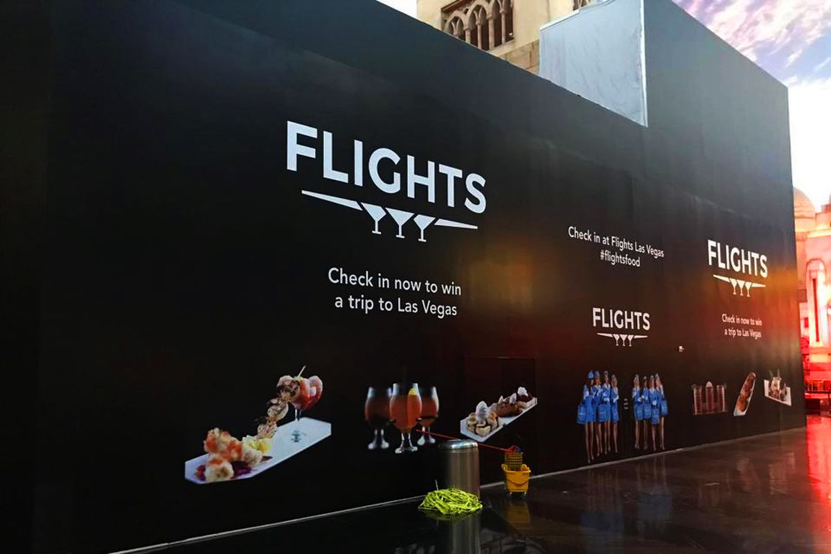 Flights opens this summer at the Miracle Mile Shops - Eater Vegas