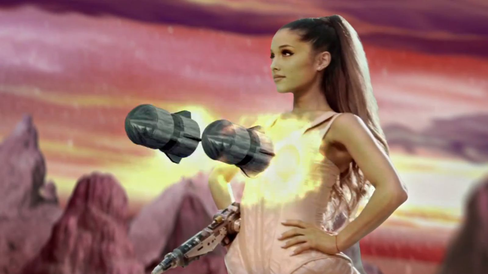 Ariana Grandes New Break Free Music Video Is A Trippy -9382