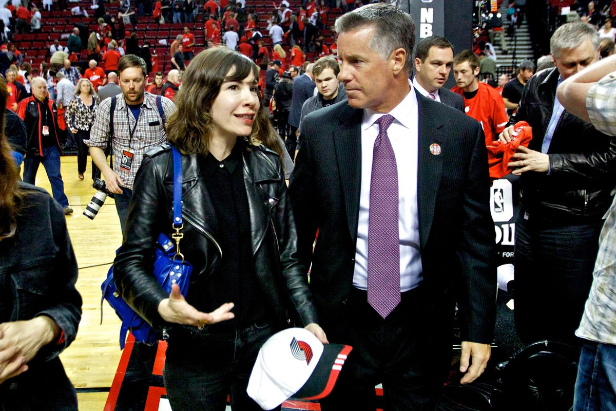 Even Carrie Brownstein wants to know what Neil Olshey is up to.