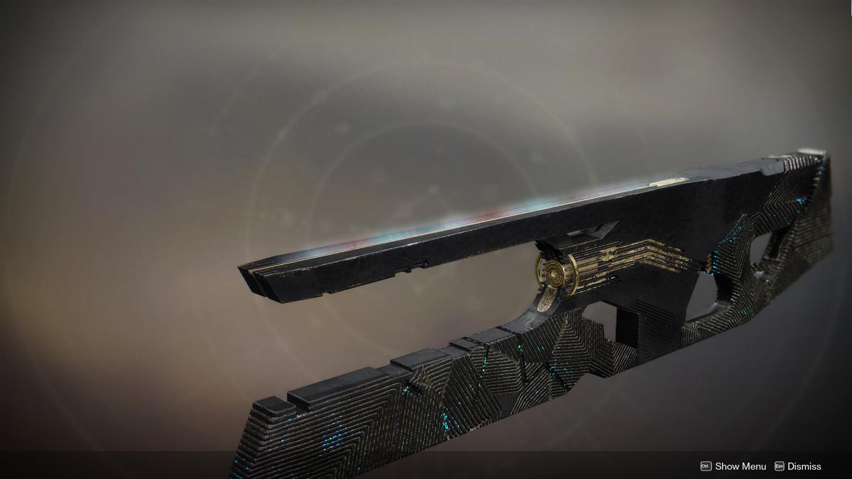 Ruinous Effigy trace rifle Equinox ornament