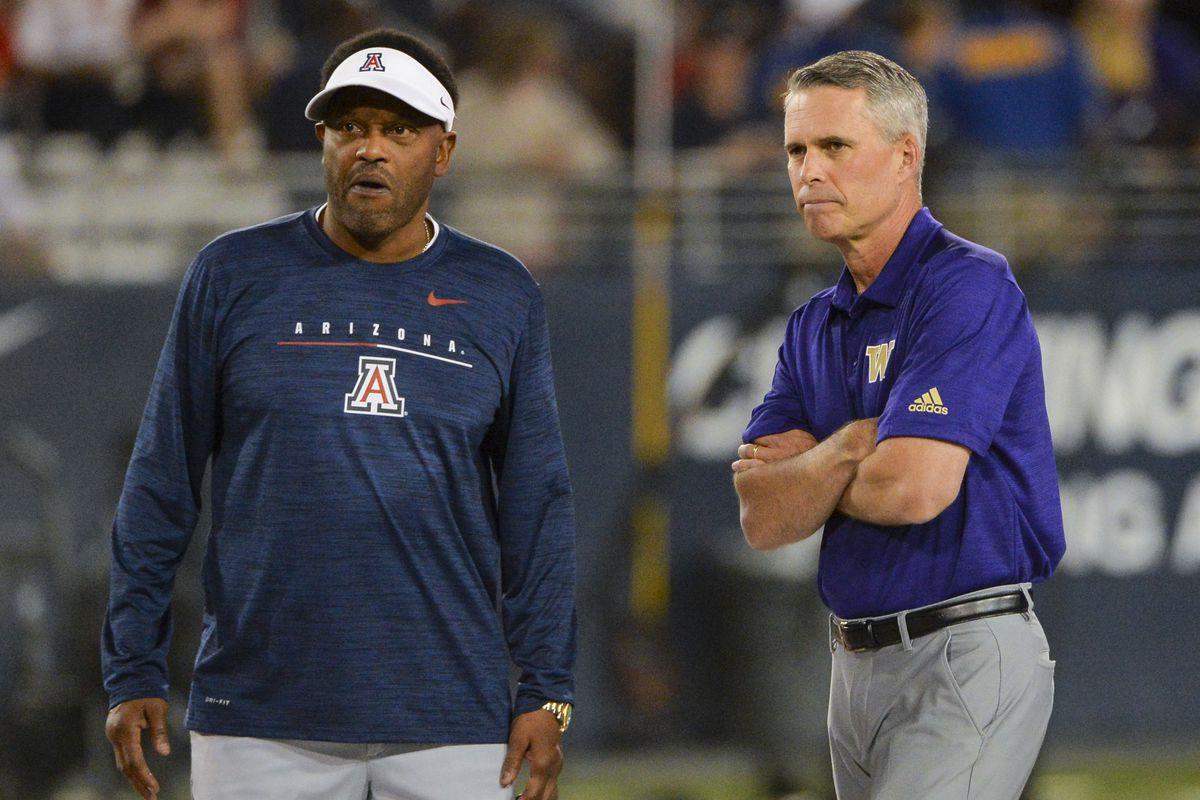 What Kevin Sumlin said after Arizona football's loss to Washington