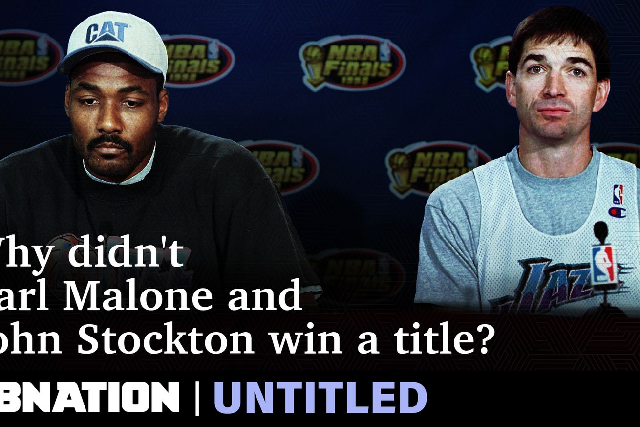 UNT Thumb  stockton malone7.0 - Karl Malone and John Stockton never won an NBA championship. Here's what left them empty-handed.