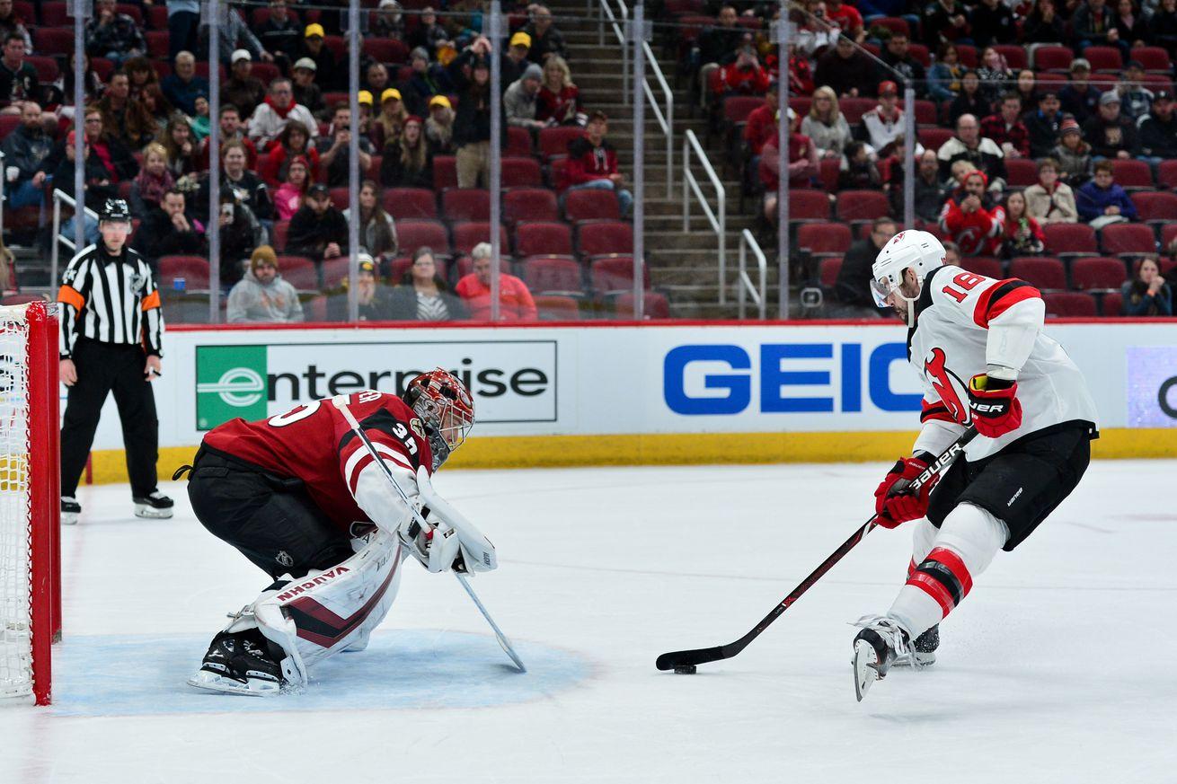 Gamethread #76: New Jersey Devils vs. Arizona Coyotes