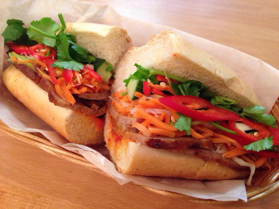 Banh mi at Banh Mi Etc, one of London's best Vietnamese restaurants